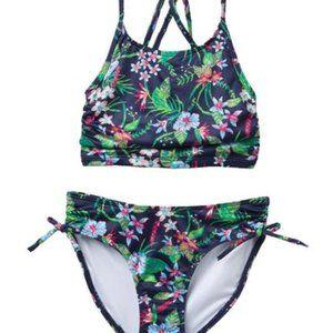 Harper Canyon - Floral Strappy Pool Time Bikini